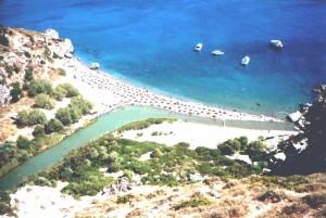beach of Preveli